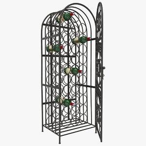wine cage max