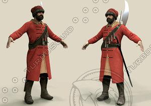 medieval warrior 3d 3ds