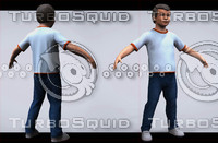 3d model of den boy