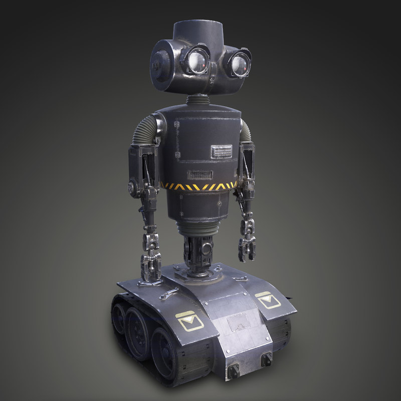 tactical robot 3d model