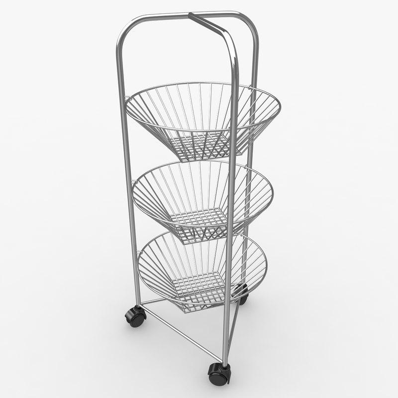 3ds vegetable storage baskets