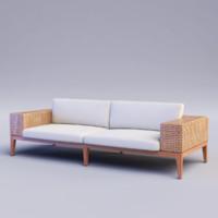 tropez sofa 3d model