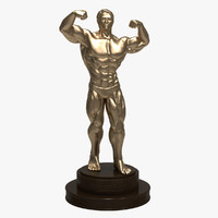 Bodybuilder Sculpture