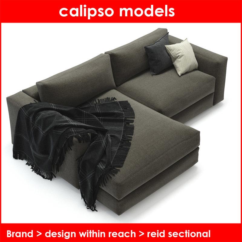 3d design reach reid sectional model