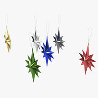 3d star ornament 01