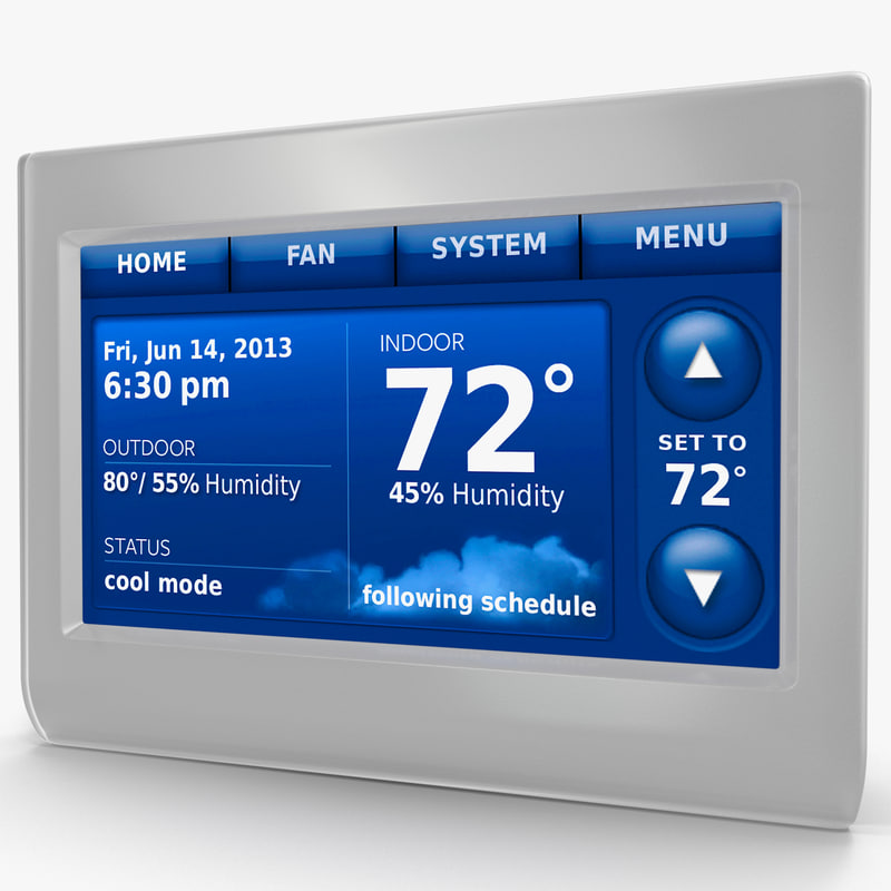 3d wifi smart thermostat