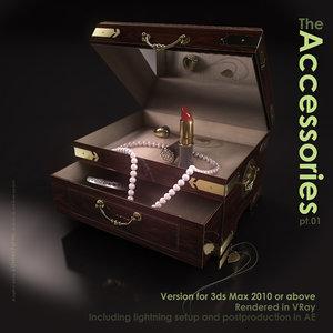 3d model jewelry box