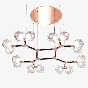 brabbu horus suspension light lamp max
