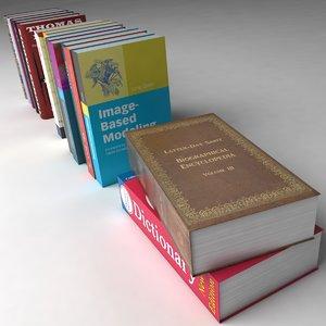16 books 3d 3ds