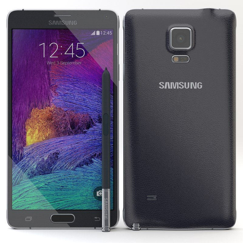 3d model samsung galaxy note 4