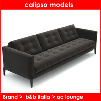 ac lounge b italia 3d max