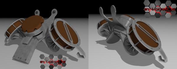 controller team dimensional 3d model