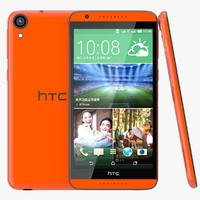 3d model htc desire 820 monarch