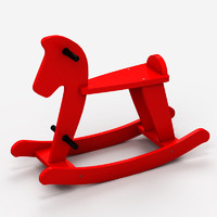 max wooden rocking horse