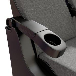 chair textile obj
