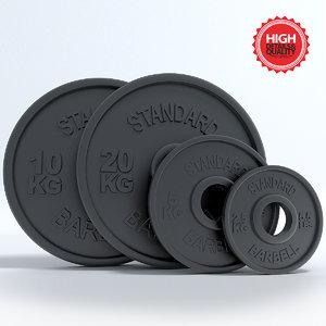 3d weight sport fit