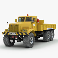 3ds max russian kraz 255 airfield
