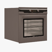 arcelik built-in oven 3d model