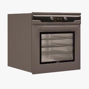 arcelik built-in oven 3d model