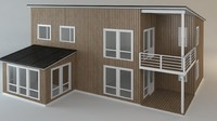 3ds max cottage