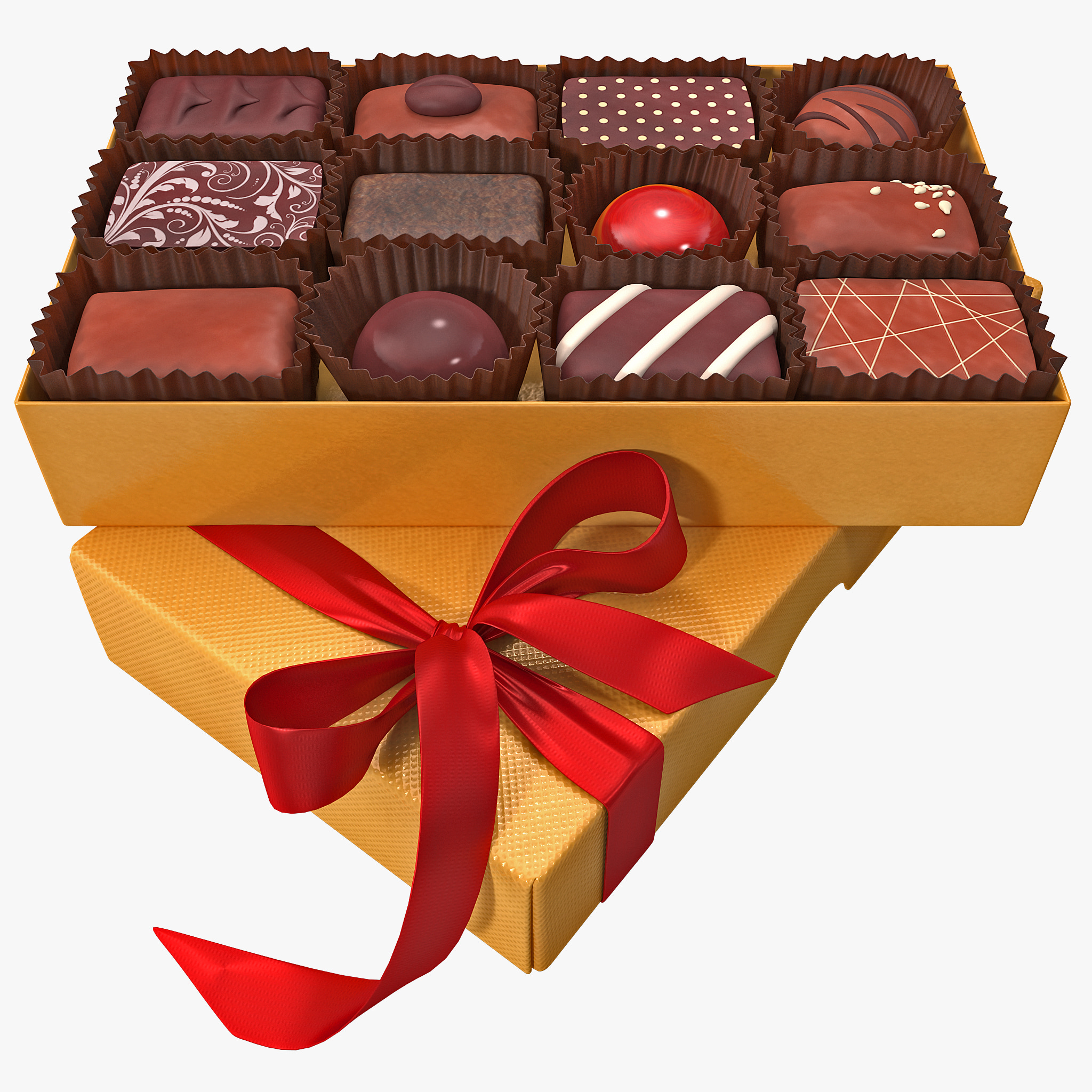 box chocolates 2 3d 3ds