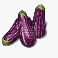 3ds max aubergine eggplant ratatouille