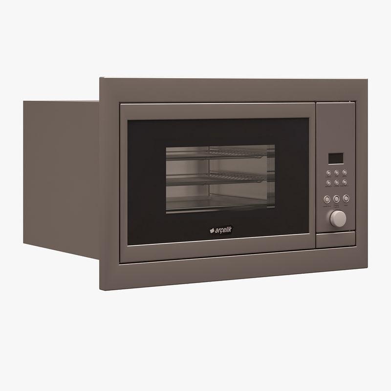 arcelik built-in toaster 3d max