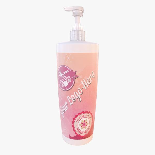 3ds max cosmetic cream bottle 1000