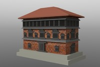 old palace 3d obj