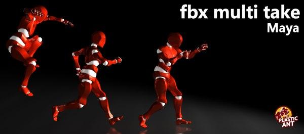 FBX Multi Take (Maya)