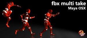 FBX Multi Take (Maya OSX)