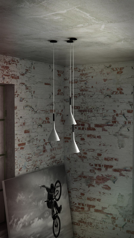 foscarini aplomb suspended 3 3d model