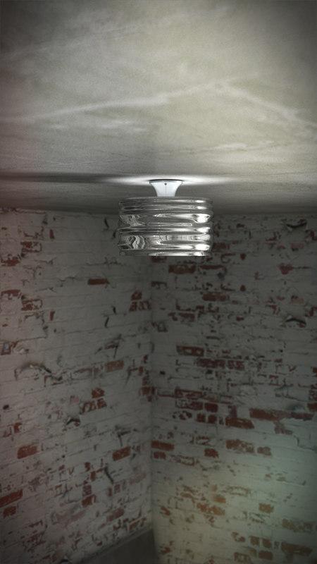 artemide aqua ceiling 3 3d c4d