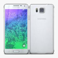 Samsung Galaxy Alpha Dazzling White