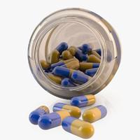 pills 3d max