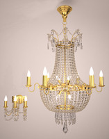 crystal chandelier&wall sconce