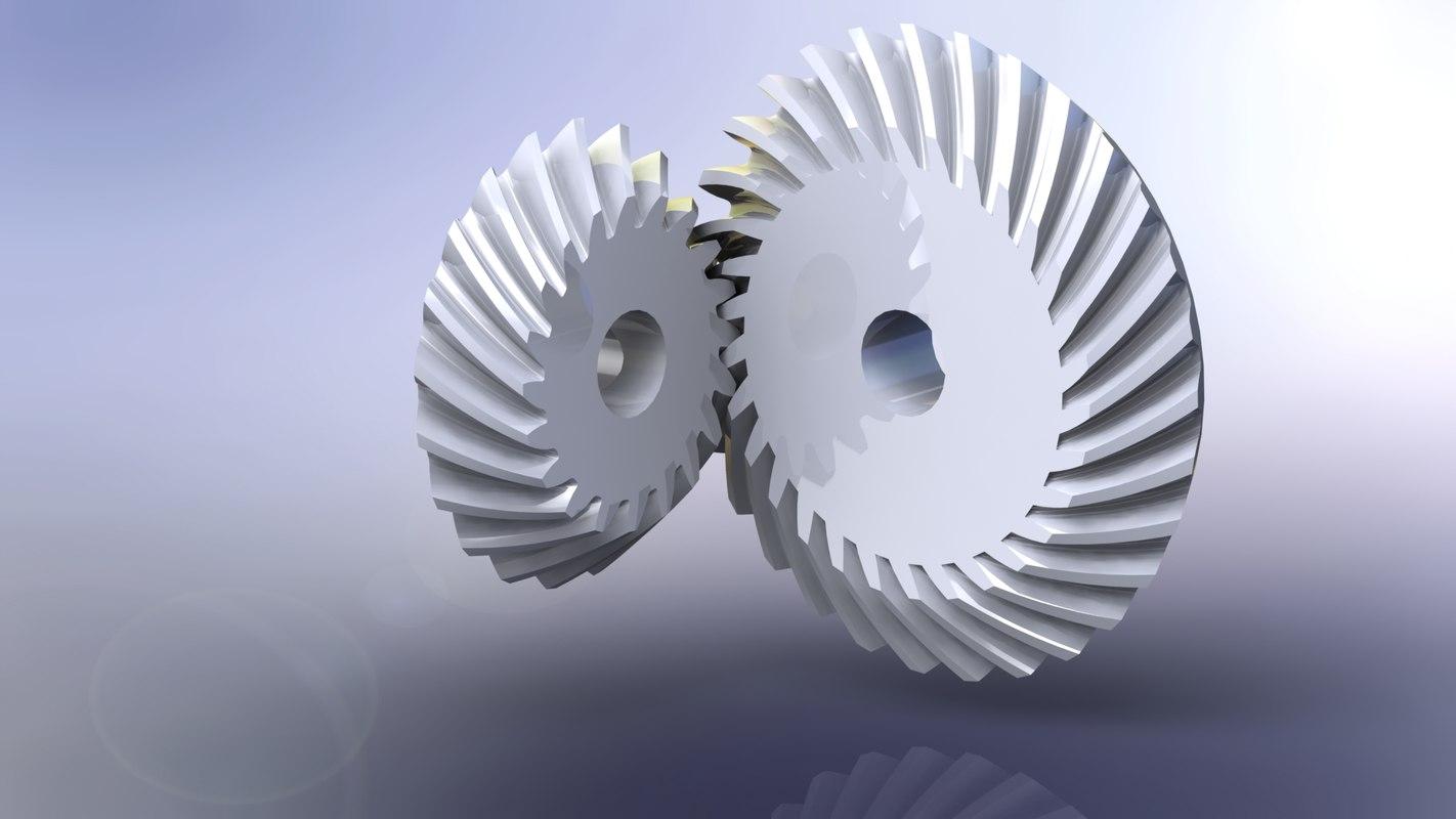 3d bevel gears