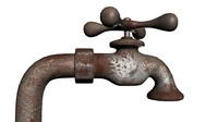 3ds max faucet rusty