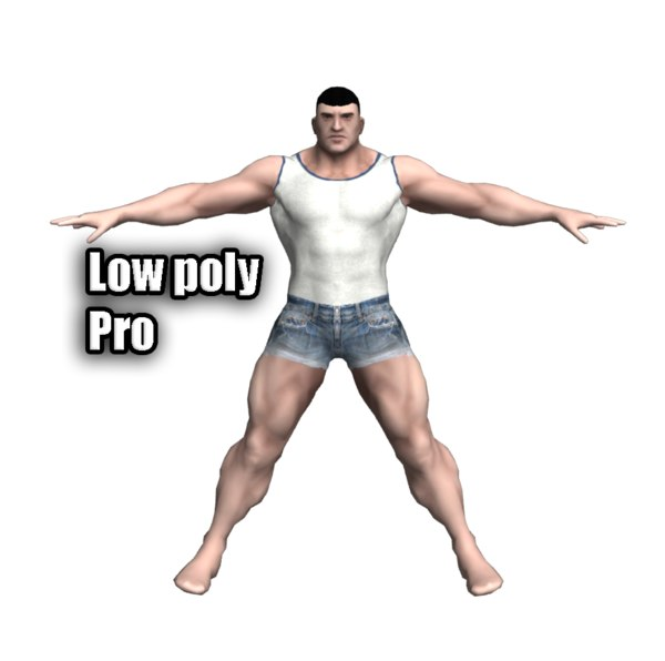 flesh muscles 3d max