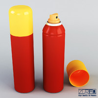 3d spray 150ml model