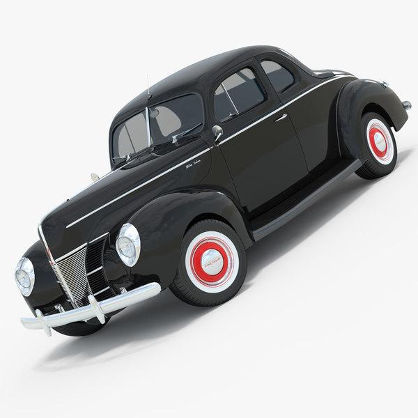 3d model 1940 luxe