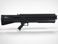 UTS15 Shotgun - High Poly