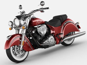 3d indian chief classic