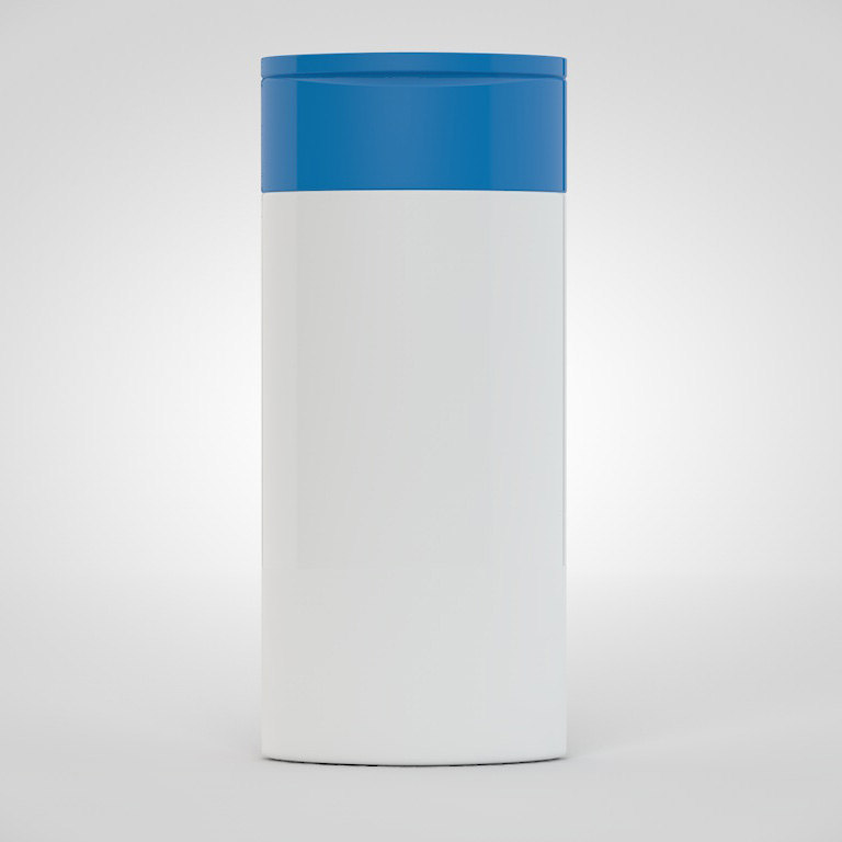 3d model shampoo bottle