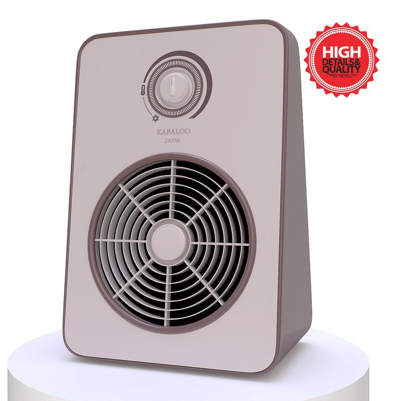 3d heater modelled