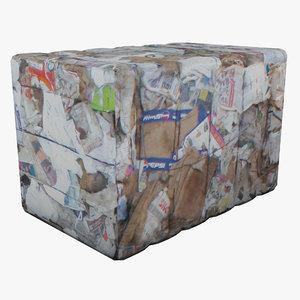 paper waste 2 3ds