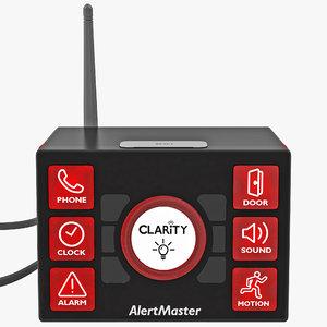 3d model visual alert clarity alertmaster