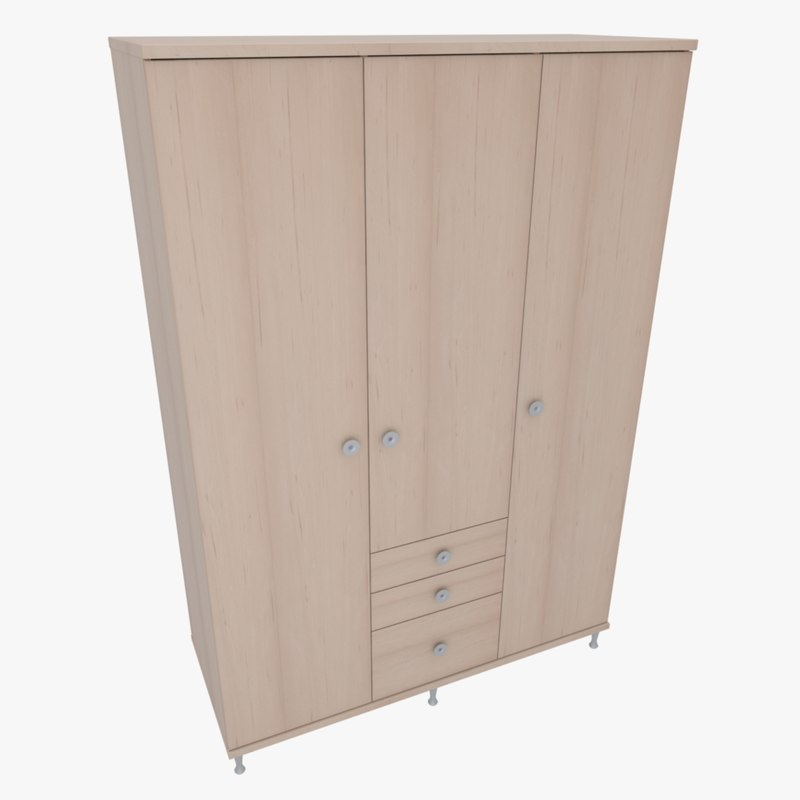3d furniture office home cabinet model