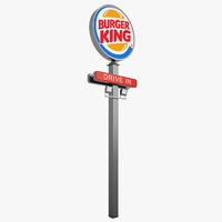 burger king stella 3d max