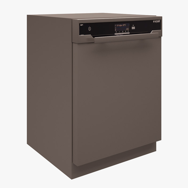 3d arcelik dishwasher